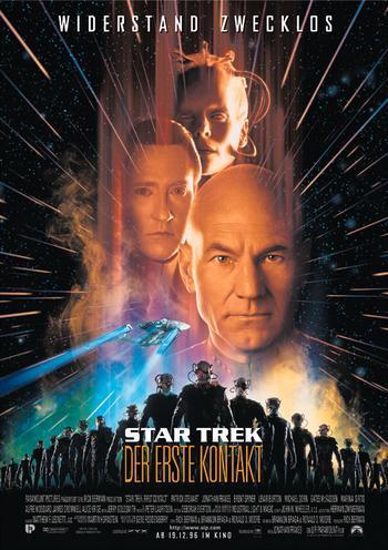 Star Trek - Premier contact = Star Trek: First Contact / Jonathan Frakes, réal.   Frakes, Jonathan. Réalisateur. Acteur