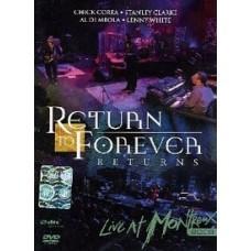 Returns : live at Montreux 2008 | Corea, Chick (1941-....). Clavier - non spécifié. Piano. Compositeur