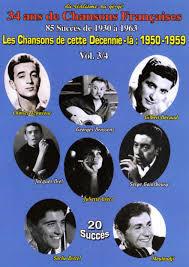 Les chansons de cette décennie-là : 1950-1959 : volume 03 | Frères Jacques (Les). Chanteur