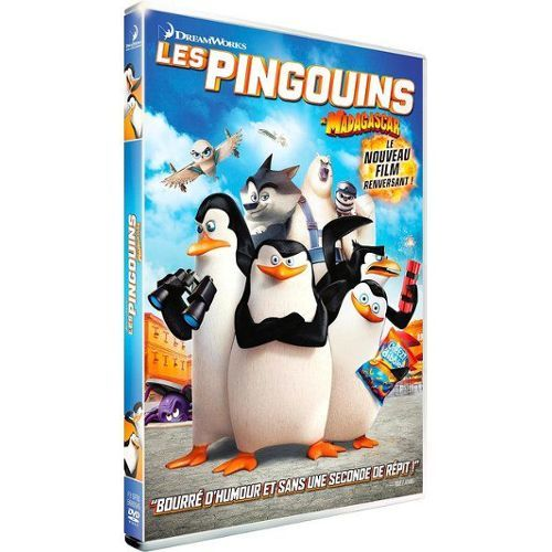 Les pingouins de Madagascar = Penguins of Madagascar / Simon J. Smith, Eric Darnell, réal. | Smith, Simon J. (19..-....). Réalisateur